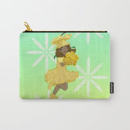 Daffodil Flower Girl Carry-All Pouch