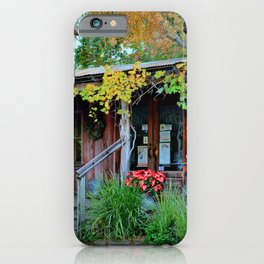 The Grapevine Texas Wine Bar iPhone Case