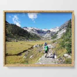 Hiking Serving Tray