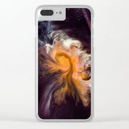 Interstellar Galaxy Clear iPhone Case