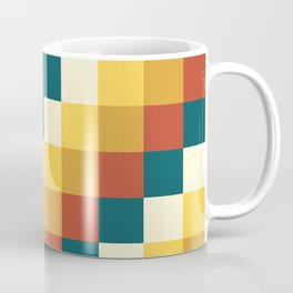 My Honey Pot - Pixel Pattern in yellow tint colors Coffee Mug