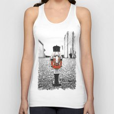 Time to crack some nuts Unisex Tank Top