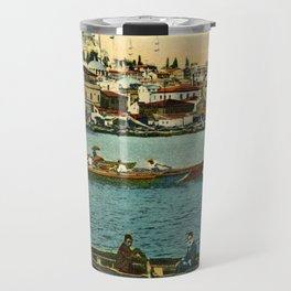 Vintage Golden Horn Constantinople ca 1900  Travel Mug