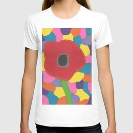 Stained Glass Poppy T-shirt