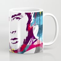 rebel Mugs featuring Rebel by Paky Gagliano