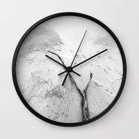 one direction Wall Clocks featuring Direction by Luk Kuzma