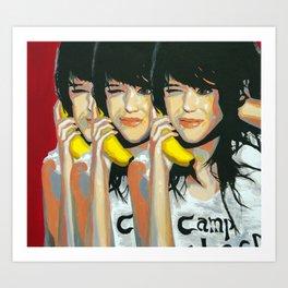 Girl - Holly Croft Art Print
