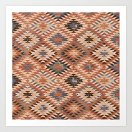 Arizona Southwestern Tribal Print Art Print