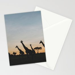 Masai Mara National Reserve IX Stationery Cards