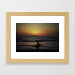 Surfer Paradise Framed Art Print