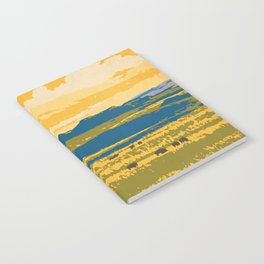 Grasslands National Park Poster Notebook