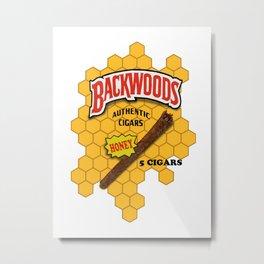 Backwoods logo Metal Print