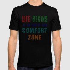 Comfort Zone MEDIUM Black Mens Fitted Tee