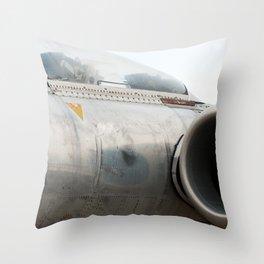 Avro Canada CF-100 Throw Pillow