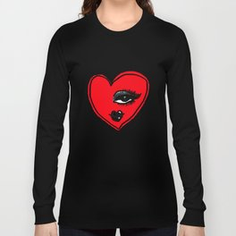 Looking for Love Gothic Long Sleeve T-shirt