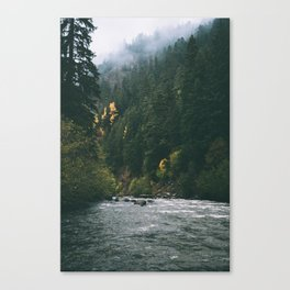 East Fork Hood River Canvas Print