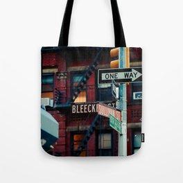 Bleecker & Sullivan Street Tote Bag