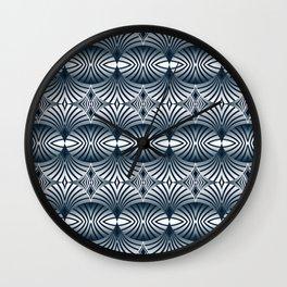 Indigo Fans Wall Clock