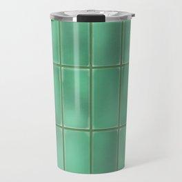 Cyan Tiles Travel Mug