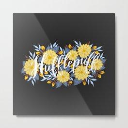 Hufflepuff Metal Print