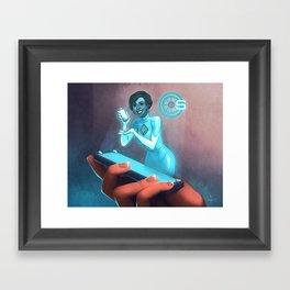 PAD Campaign Framed Art Print