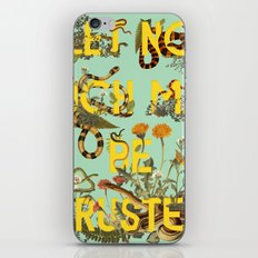 Let No Such Man Be Trusted (Green) iPhone Skin