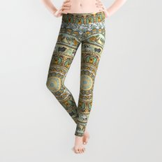 Pug Yoga Medallion Leggings