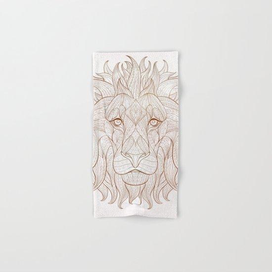 Ethnic Lion Hand & Bath Towel