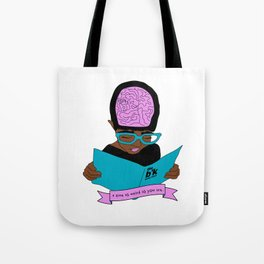 A zine as weird as you are. Tote Bag