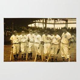 1937 Allstars Rug