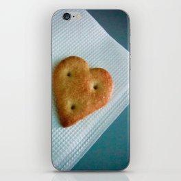 Heart Cookie  iPhone Skin