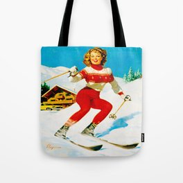 PIN UP GIRL by Gil Elvgren Tote Bag