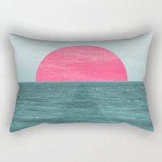 Magenta Sunset Rectangular Pillow