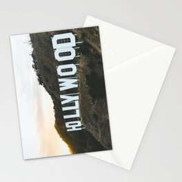 Hollywood Sign (Los Angeles, CA) Stationery Cards