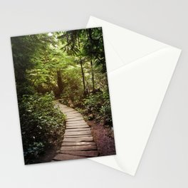 trail to Cape Flattery Stationery Cards