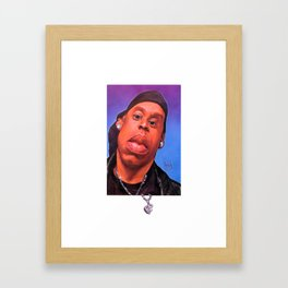 Jay-Z 2K Framed Art Print