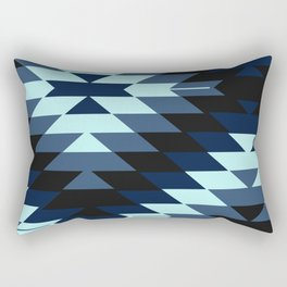 San Pedro in Indigo Rectangular Pillow
