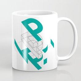 Exploded P Coffee Mug
