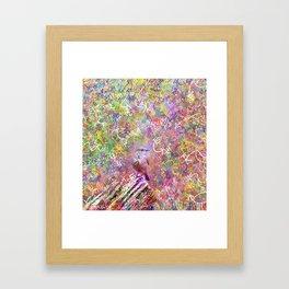 Nature Reverie - Bluebird Framed Art Print