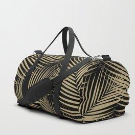 Palm Leaves - Gold Cali Vibes #2 #tropical #decor #art #society6 Duffle Bag