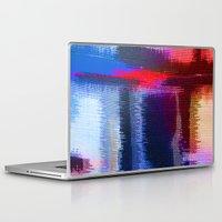 fabric Laptop & iPad Skins featuring Splat Fabric by Good Sense