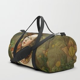 """Myth Lucretia Death Moths"" Duffle Bag"