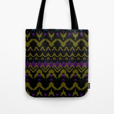 Sweater Pattern Tote Bag