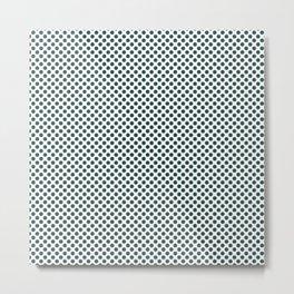 June Bug Polka Dots Metal Print