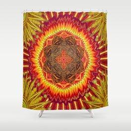 Hail to my African Sun Shower Curtain