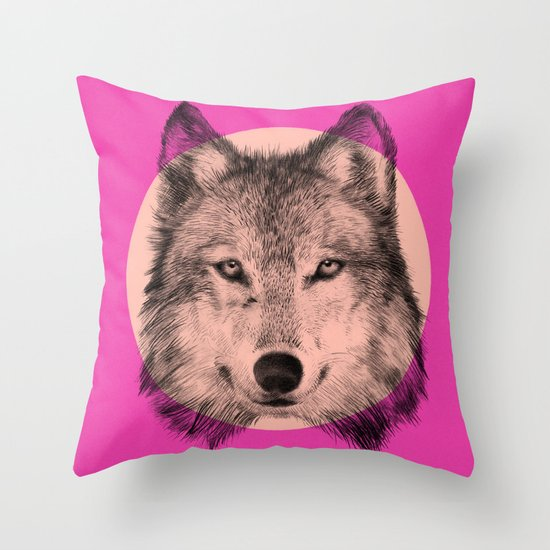 Wild 7 by Eric Fan & Garima Dhawan Throw Pillow