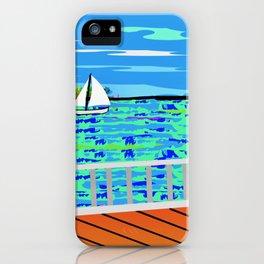 Key West Boardwalk iPhone Case