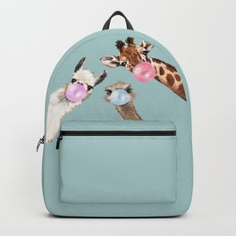 Bubble Gang in Blue Backpack