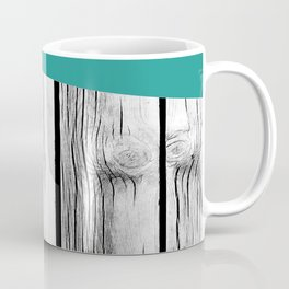 Colored arrows on wood Coffee Mug