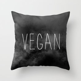 Vegan - Veganism Throw Pillow